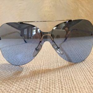 Christian Dior Blue Aviator Sunglasses